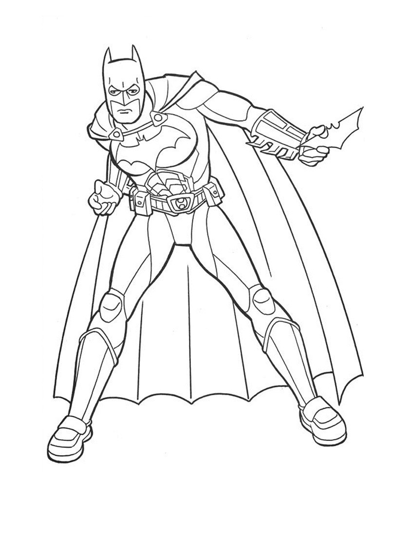 Best ideas about Free Batman Printable Coloring Pages . Save or Pin Free Printable Batman Coloring Pages For Kids Now.