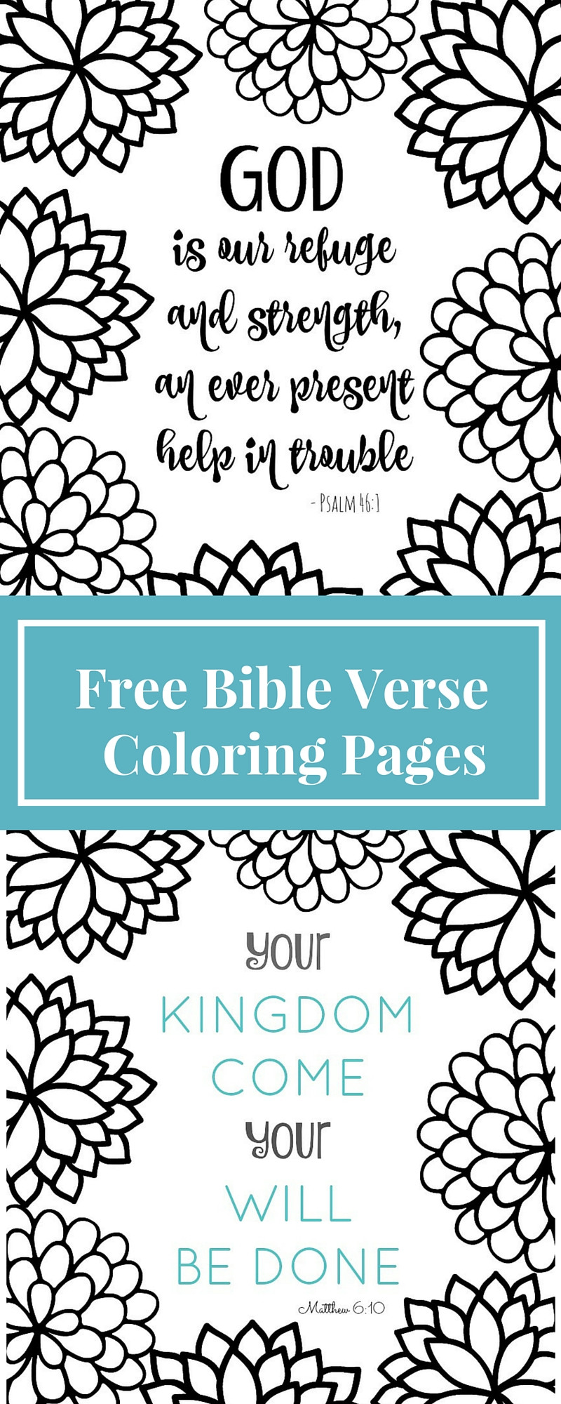 Free Bible Verse Coloring Pages  Free Printable Bible Verse Coloring Pages with Bursting