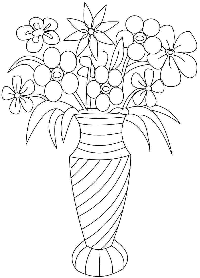 Free Carnation Printable Coloring Sheets  Printable Coloring Pages For Adults Flowers Coloring Home