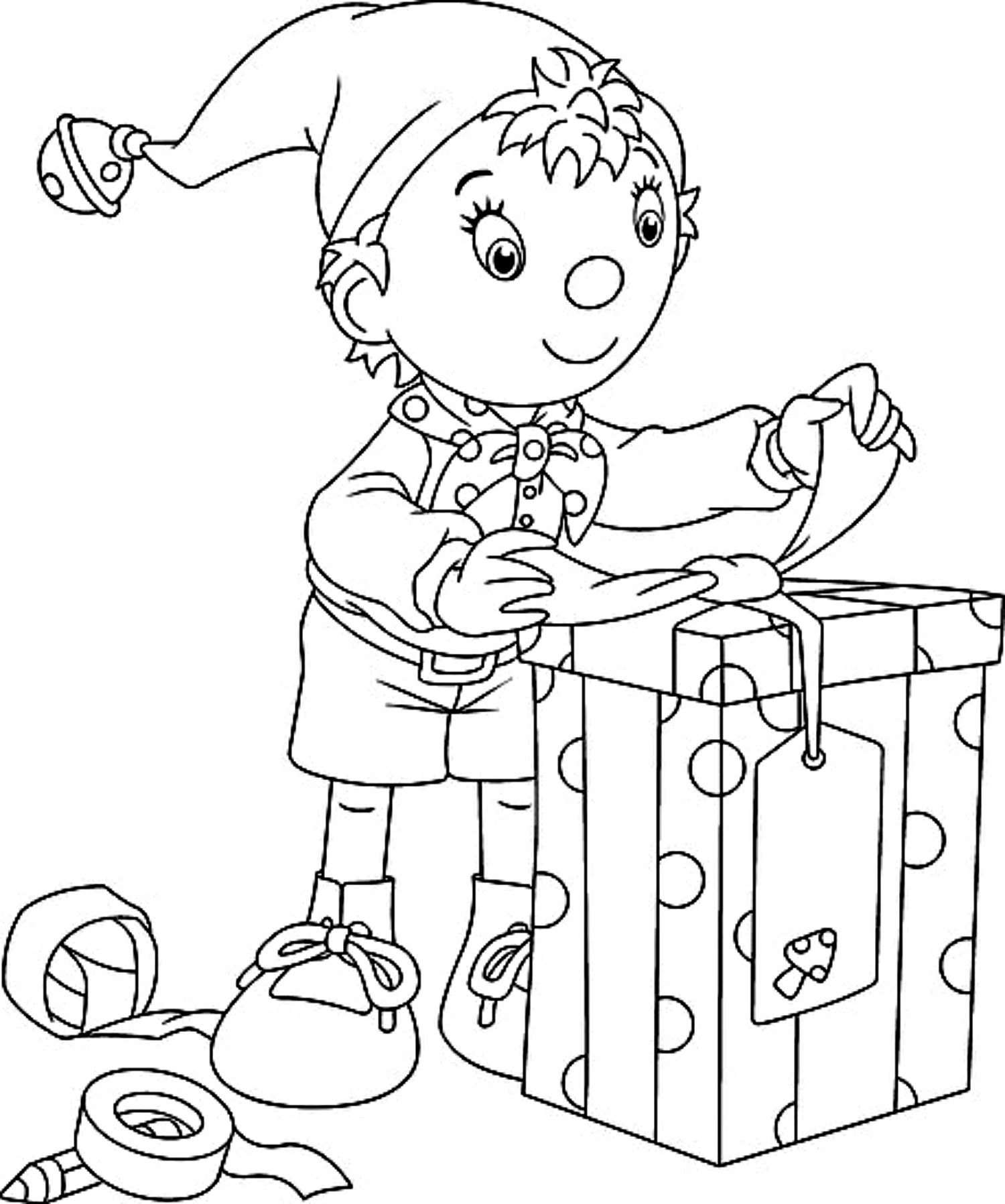 Free Christmas Coloring Pages For Kids  Free Printable Kindergarten Coloring Pages For Kids