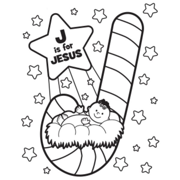 Free Christmas Coloring Sheets For Kids  5 Best of Kindergarten Printable Christmas Jesus