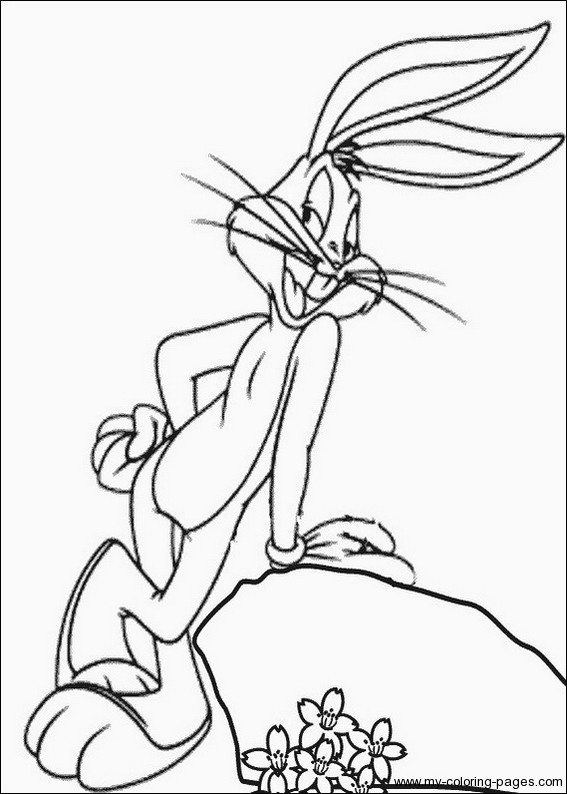 Free Coloring Pages Bugs Bunny  bugs bunny coloring pages