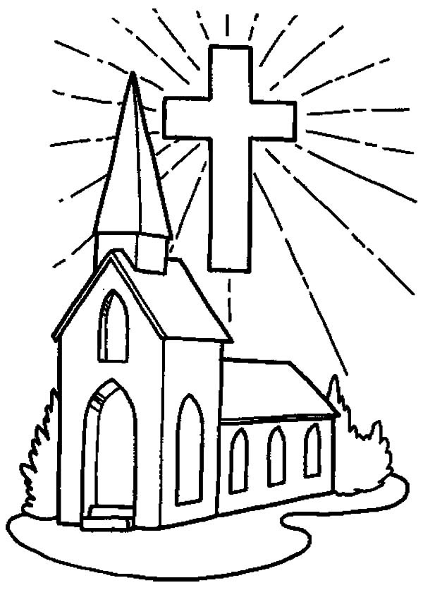 Free Coloring Pages Church  Coloring Sheets For Church 99 Colors Info