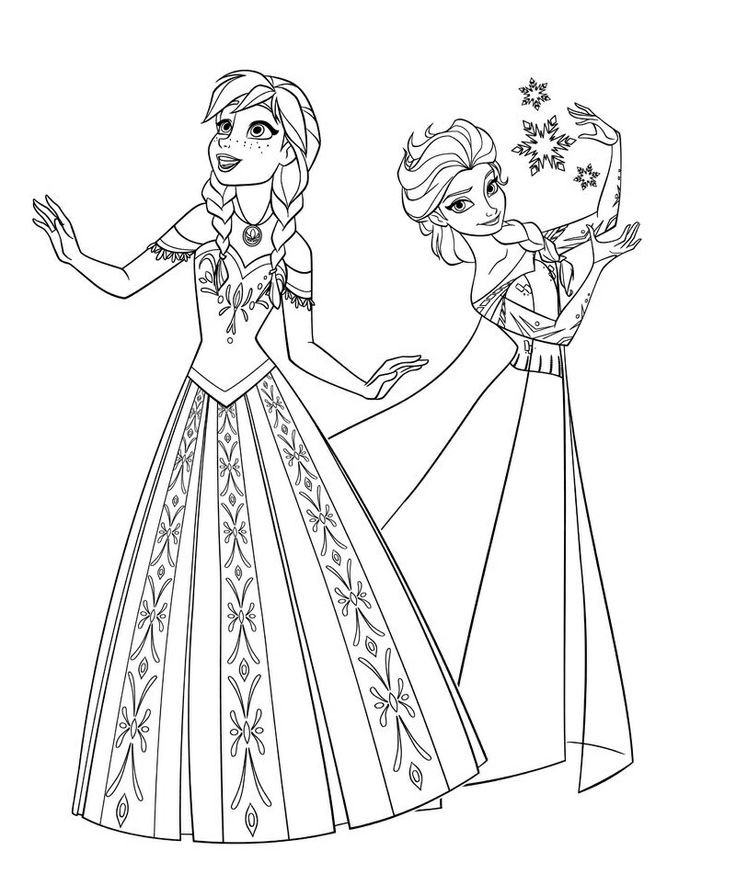 Free Coloring Pages Disney Frozen  free printable coloring pages disney frozen 2015