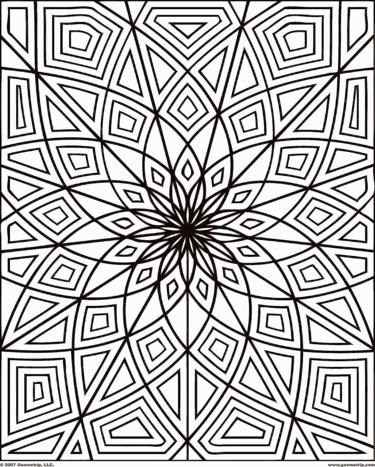 Free Coloring Pages For Adults  Printable Coloring Pages For Adults