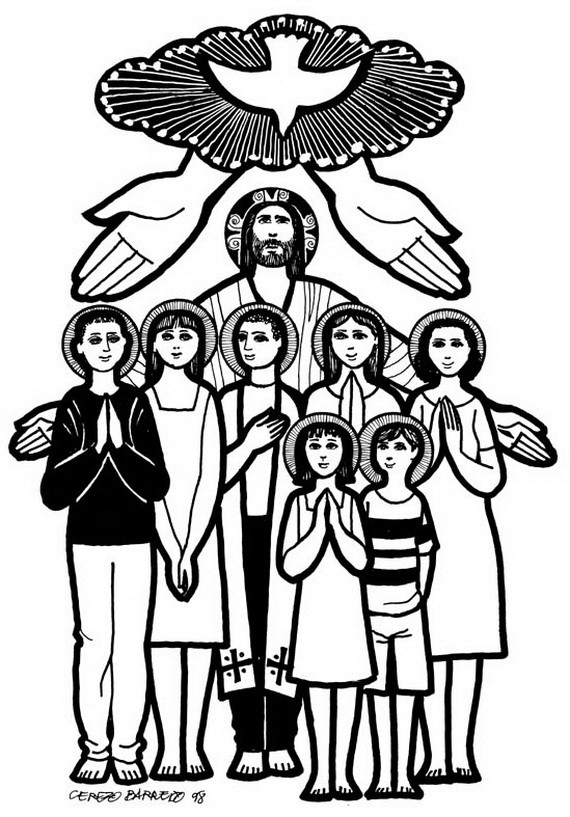 Free Coloring Pages For All Saints Day  Catholic Saints and All Saint s Day Coloring Pages