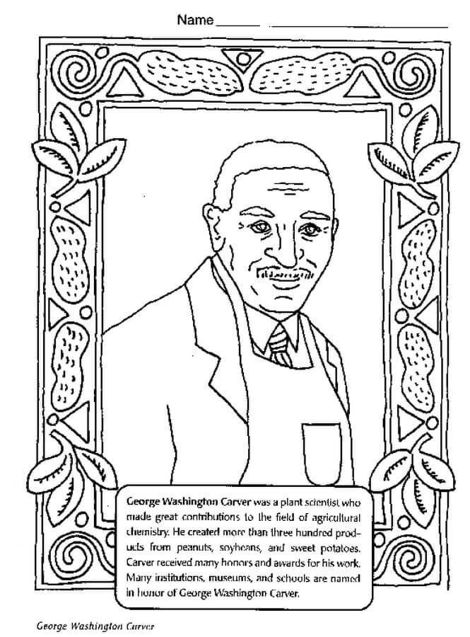 Best ideas about Free Coloring Pages For Black History . Save or Pin 20 Free Printable Black History Month Coloring Pages Now.