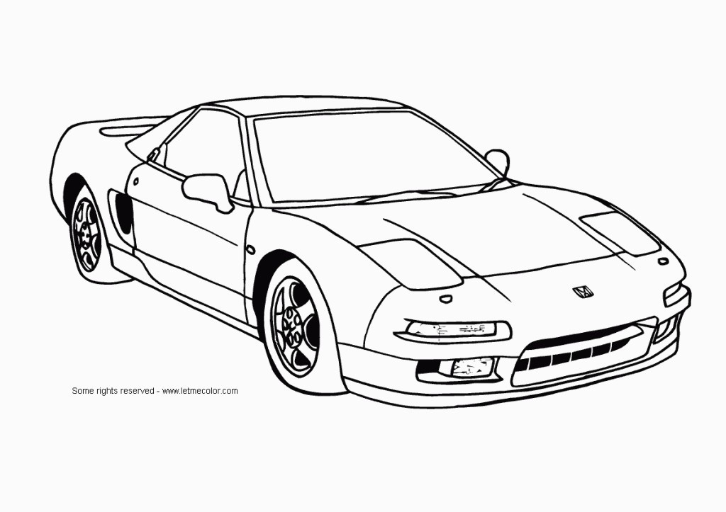 Free Coloring Pages For Boys Cars  Cool Car Coloring Pages For Boys Free Printable