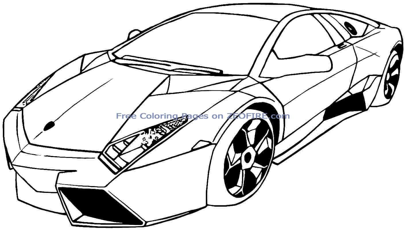 Free Coloring Pages For Boys Cars  sports cars coloring pages for boys printable