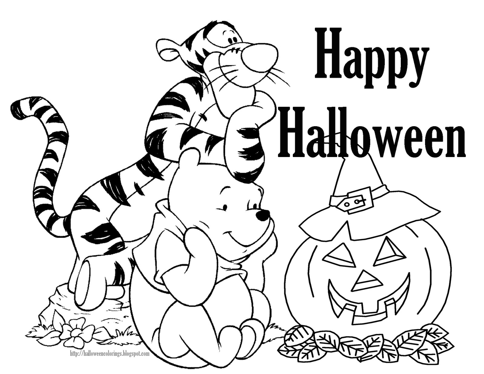 Free Coloring Pages For Halloween Printable  Halloween Coloring Pages – Free Printable Minnesota Miranda