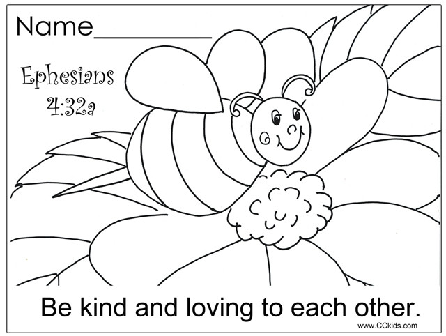 Free Coloring Pages For Sunday School  Free Printable Coloring Pages For Preschool Sunday School