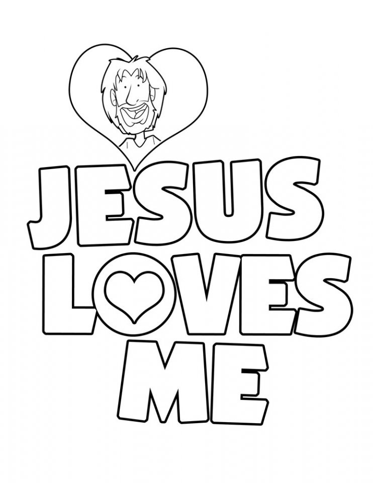 Free Coloring Pages For Sunday School  Free Printable Christian Coloring Pages for Kids Best