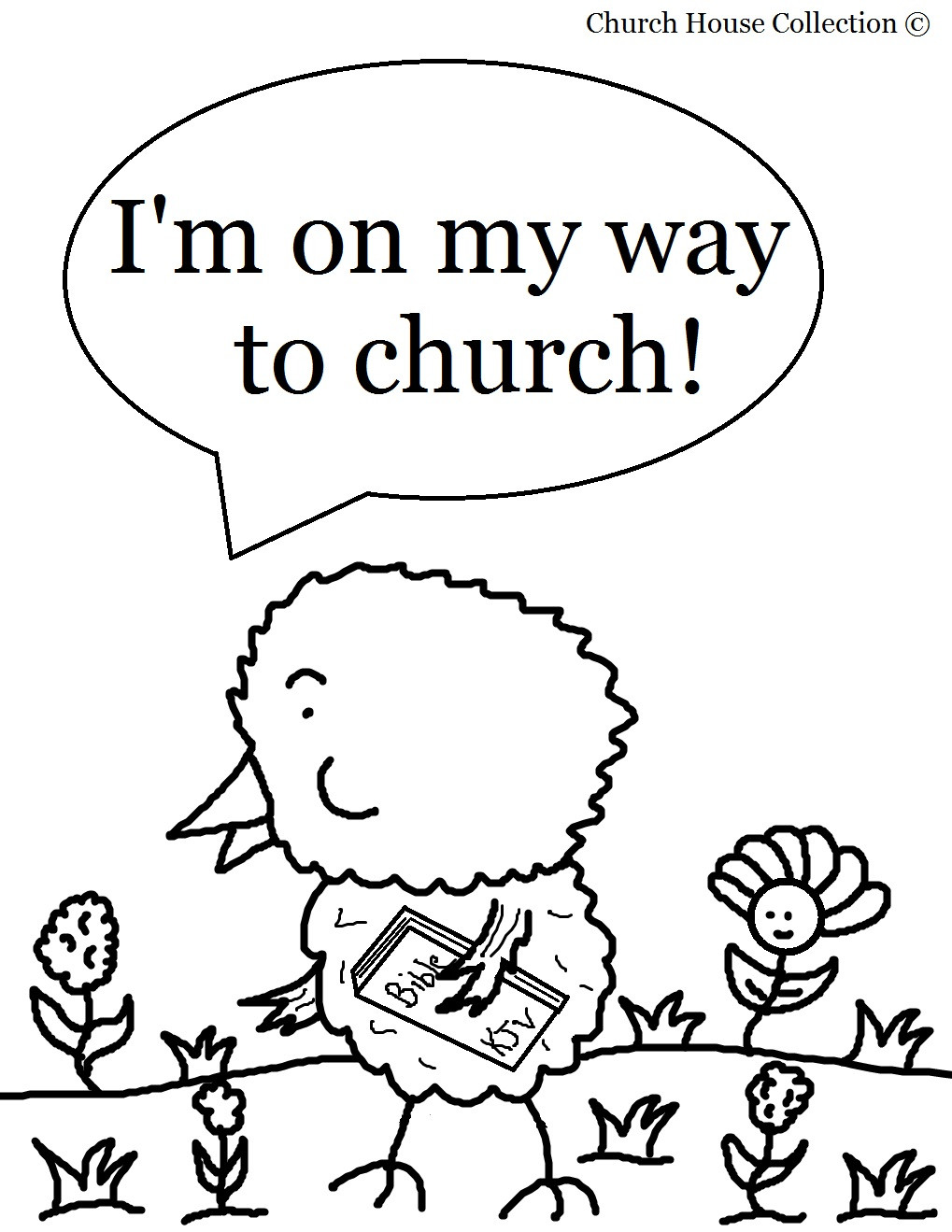 Free Coloring Pages For Sunday School  Church House Collection Blog March 2013