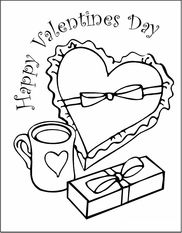 Best ideas about Free Coloring Pages For Valentines . Save or Pin Free Printable Valentine Coloring Pages For Kids Now.