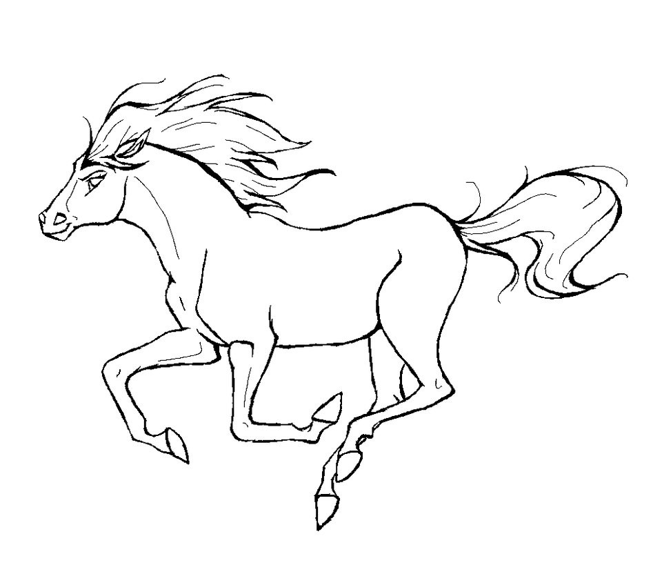 Best ideas about Free Coloring Pages Horses . Save or Pin Free Printable Horse Coloring Pages For Kids Now.