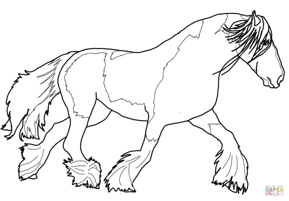 Best ideas about Free Coloring Pages Horses . Save or Pin Paint Horse Coloring Pages Now.