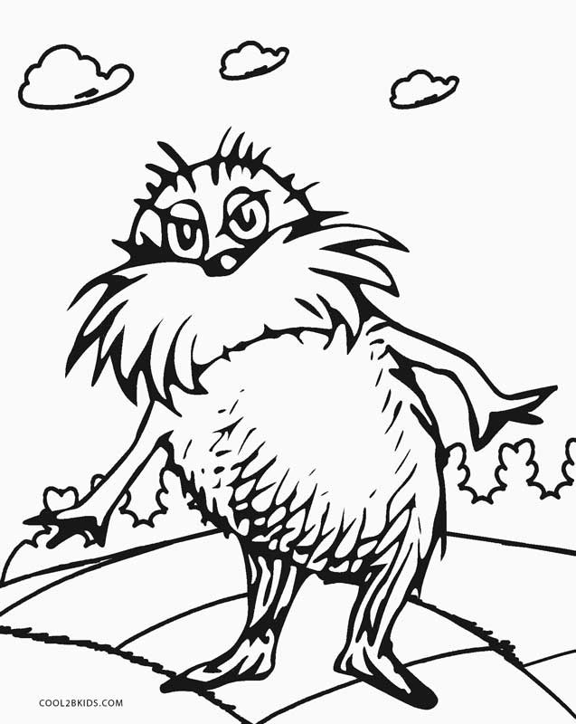 Free Coloring Pages Of Dr Seuss  Free Printable Dr Seuss Coloring Pages For Kids