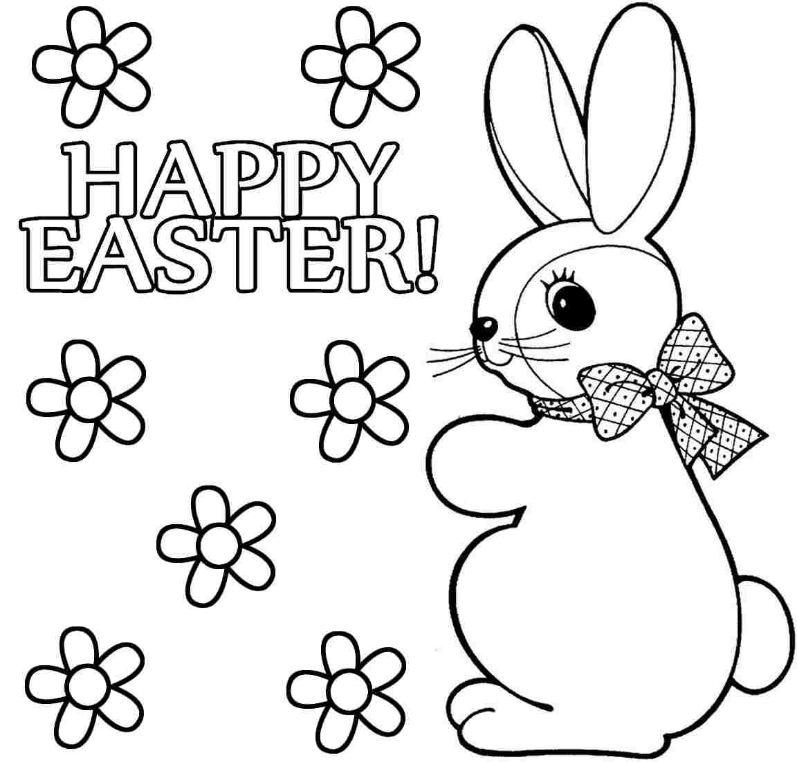 Best ideas about Free Coloring Pages Of The Easter Bunny . Save or Pin Free Picture Easter Bunny Coloring The Art Jinni Now.