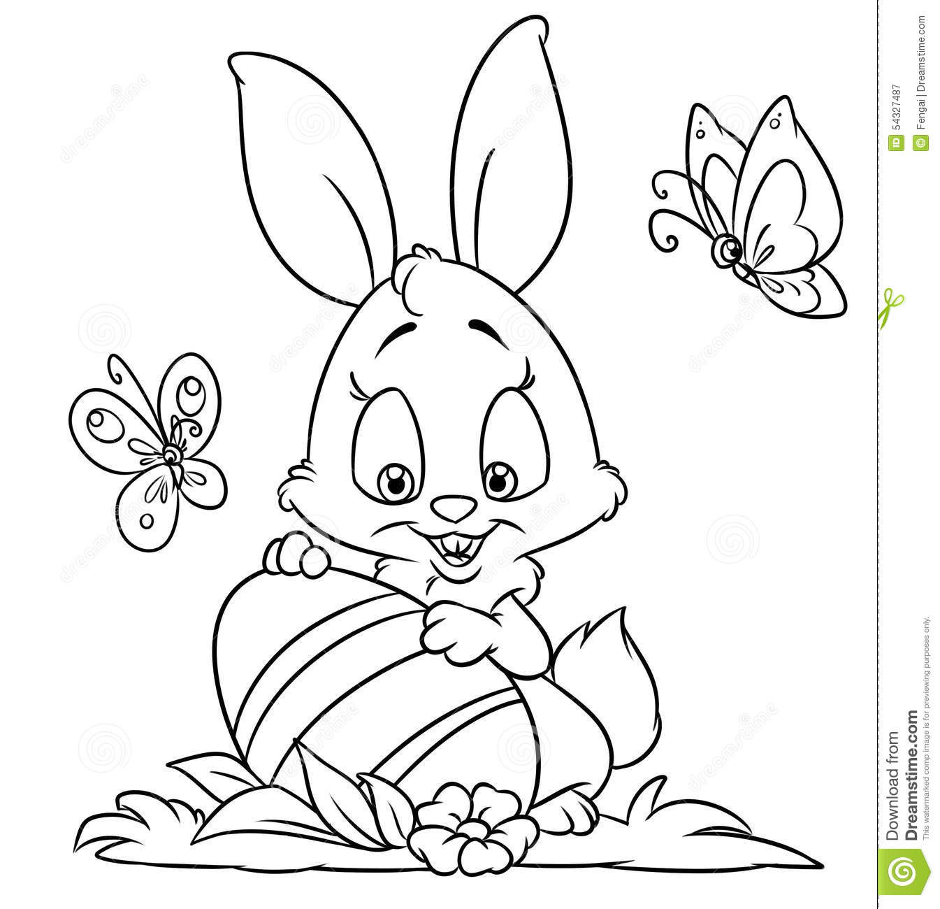Best ideas about Free Coloring Pages Of The Easter Bunny . Save or Pin Happy Easter Bunny Coloring Pages – Happy Easter Now.