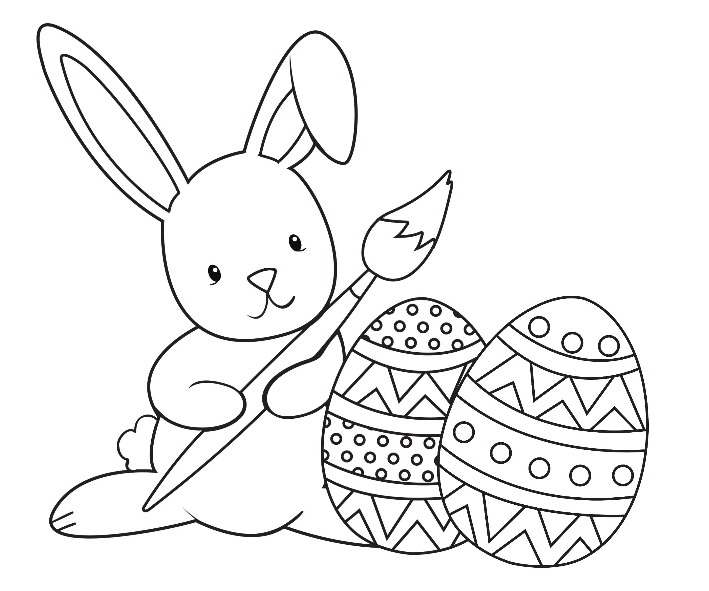 Best ideas about Free Coloring Pages Of The Easter Bunny . Save or Pin Easter Coloring Pages Crazy Little Projects Now.