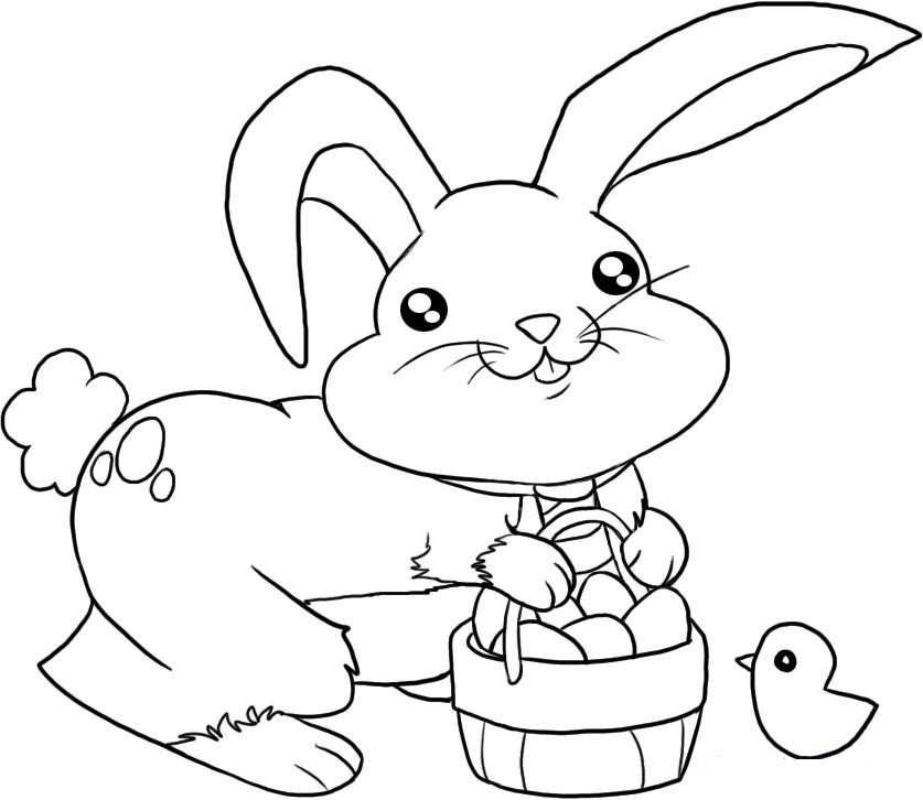 Best ideas about Free Coloring Pages Of The Easter Bunny . Save or Pin Free Printable Easter Bunny Coloring Pages For Kids Now.