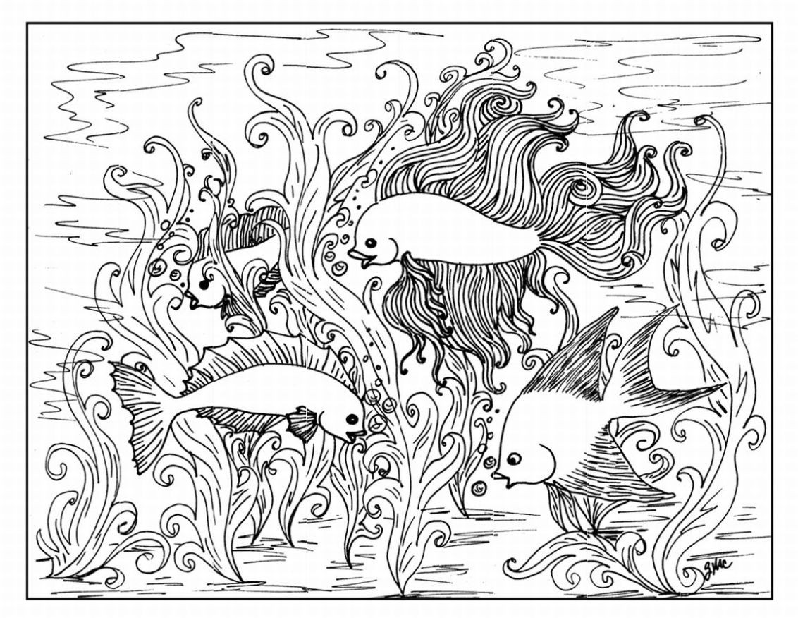 Free Coloring Pages Online Adults  Coloring Pages for Adults Free