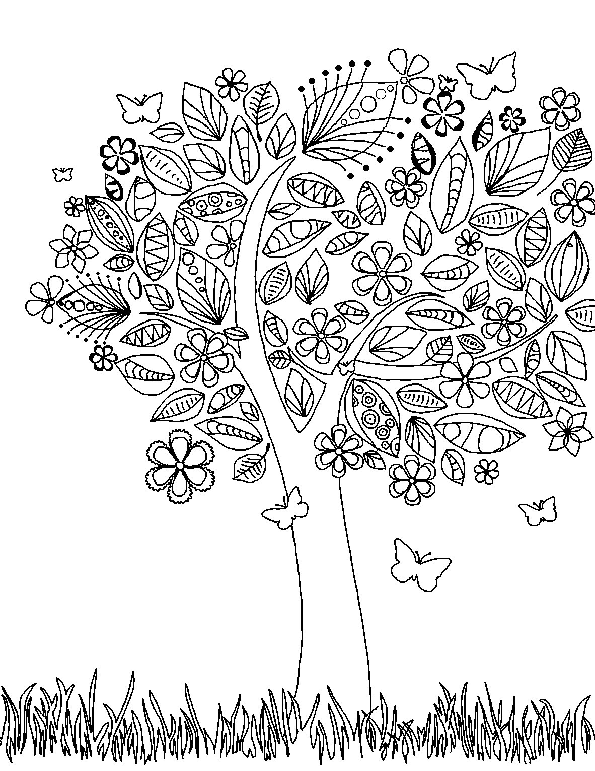 Free Coloring Pages Online Adults  Free Printable Adult Coloring Pages