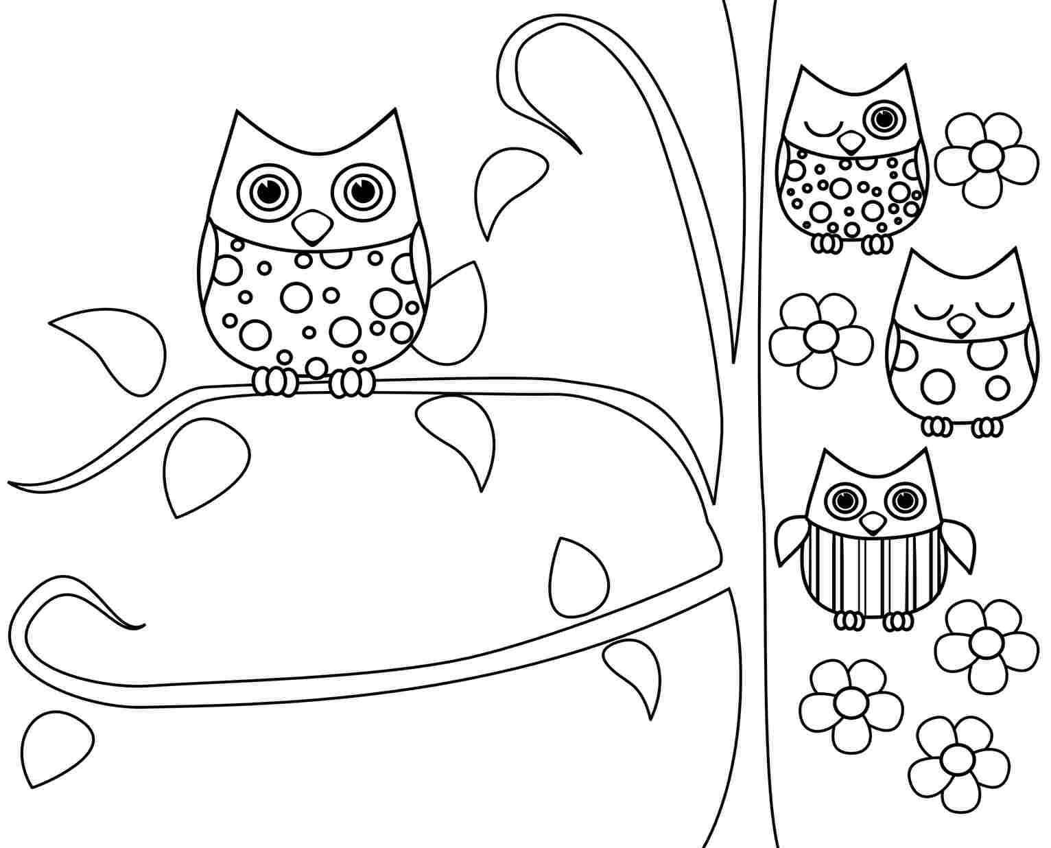 Best ideas about Free Coloring Pages Owls . Save or Pin owl coloring pages free printable Now.