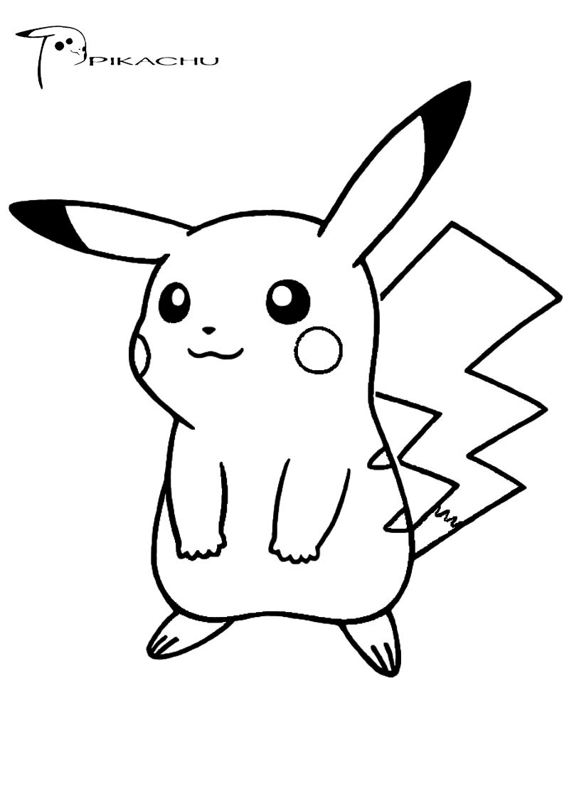 Free Coloring Pages Pokemon  Pokemon Coloring Pages Free Download