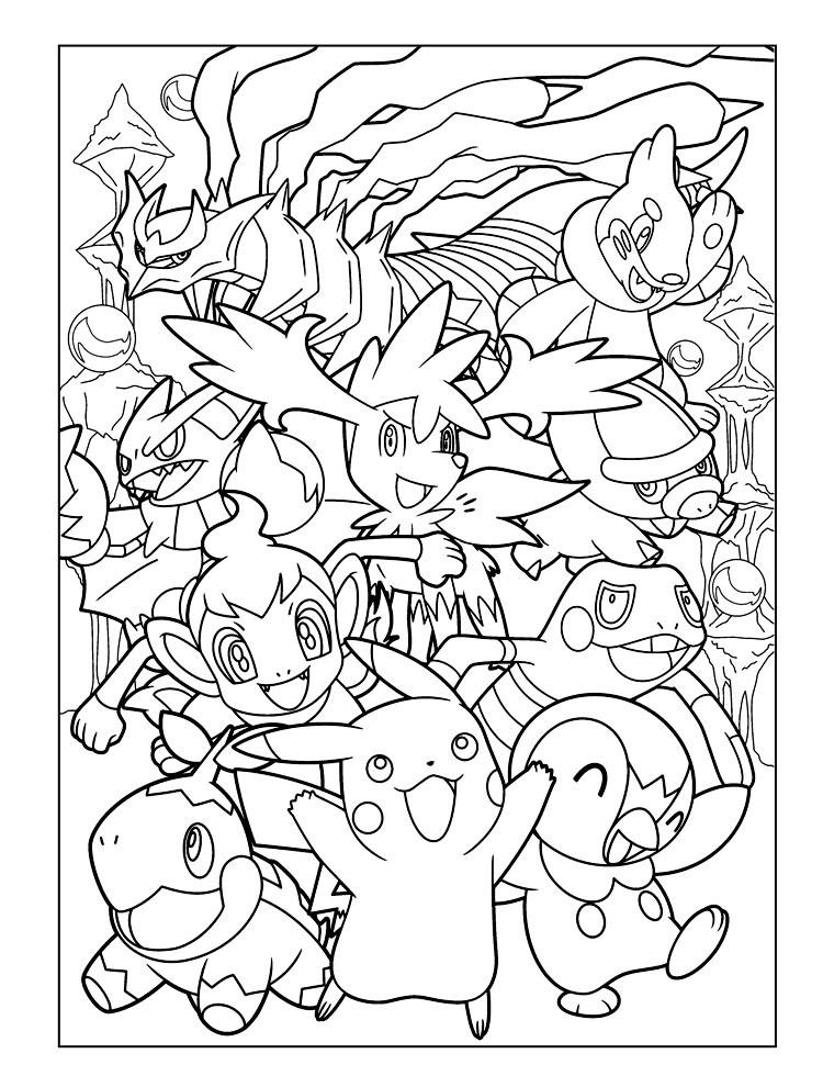 Free Coloring Pages Pokemon  Pokémon Coloring Pages coloringcks