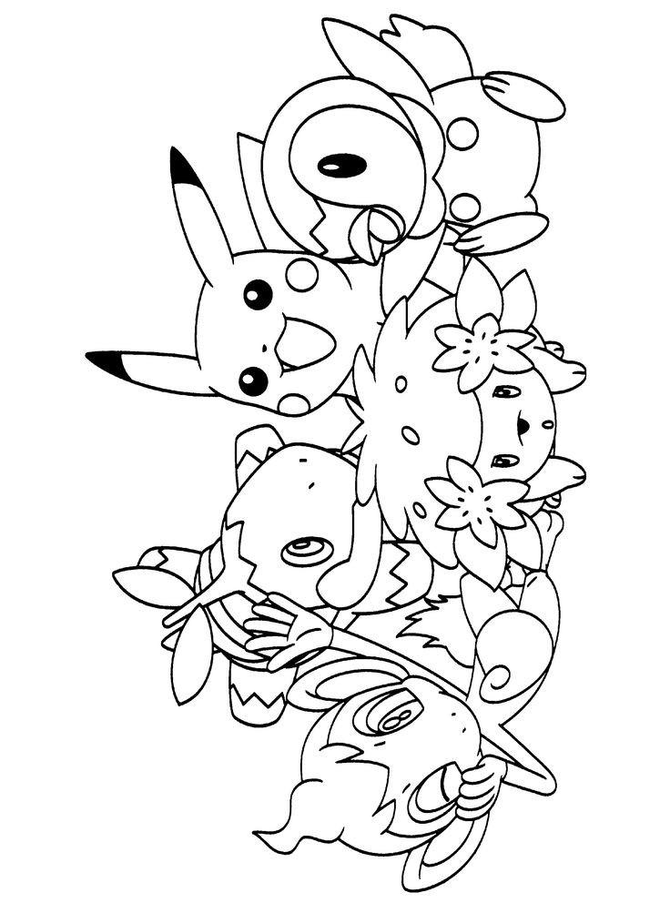 Free Coloring Pages Pokemon  38 bästa bilderna om Coloring pages pokémon på Pinterest