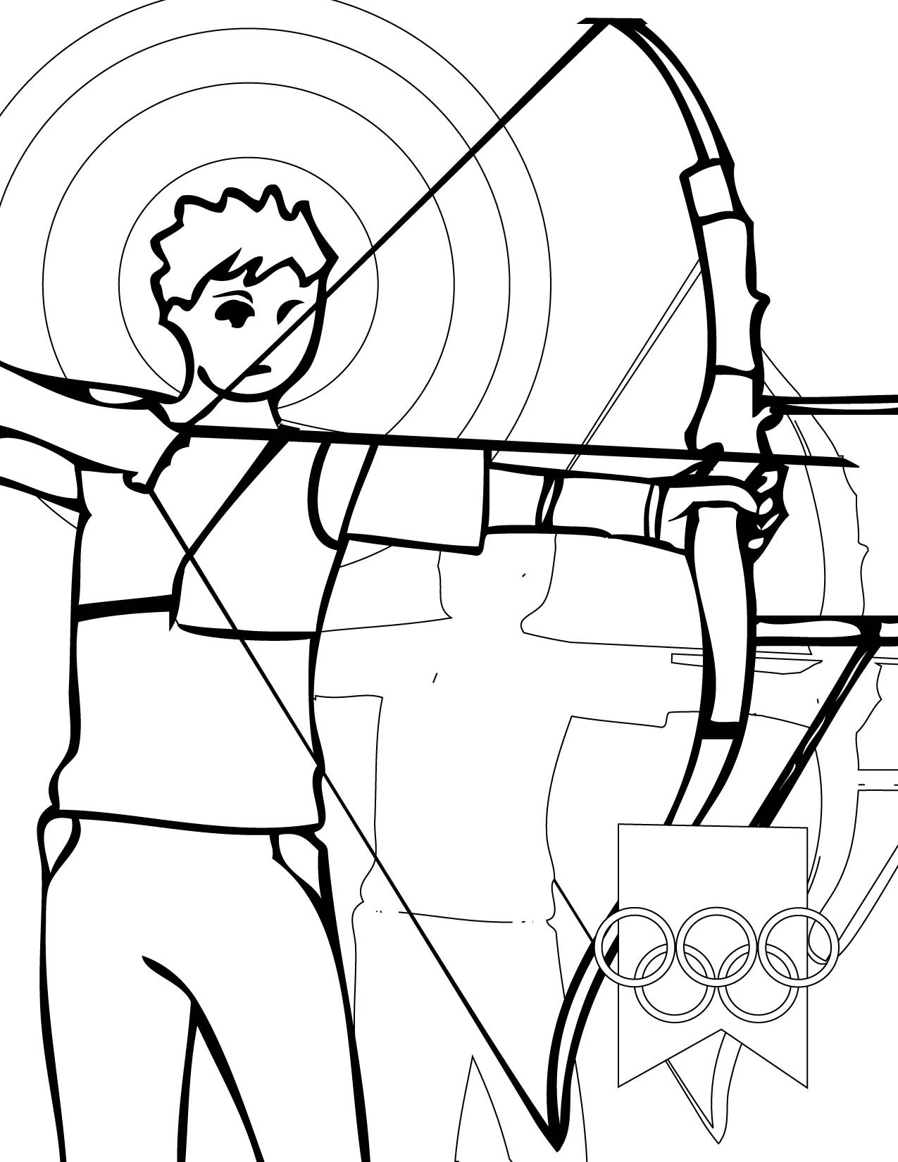 Free Coloring Pages Sports  printable sports coloring pages for kids free printable