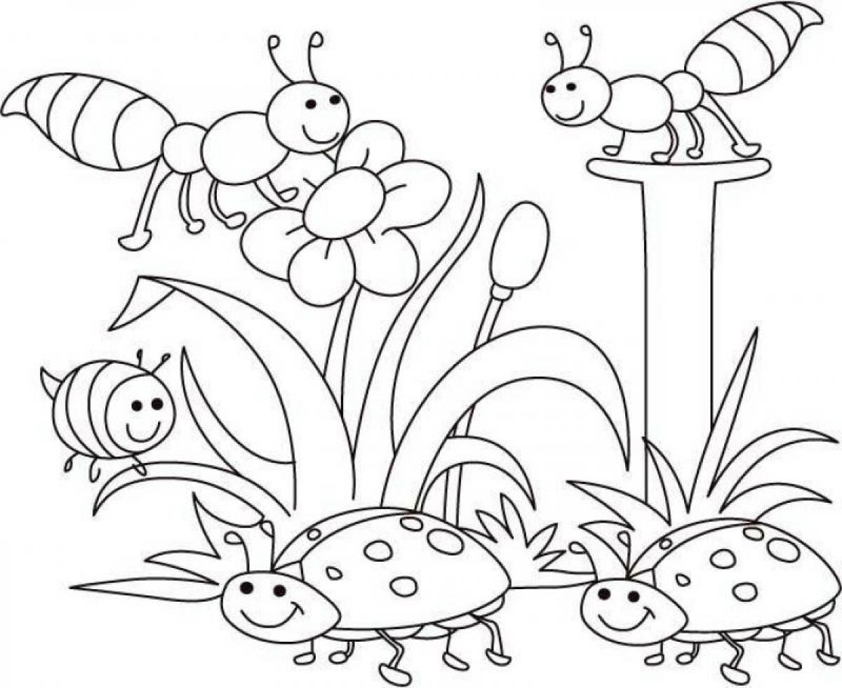Free Coloring Pages Spring Time  spring coloring pages
