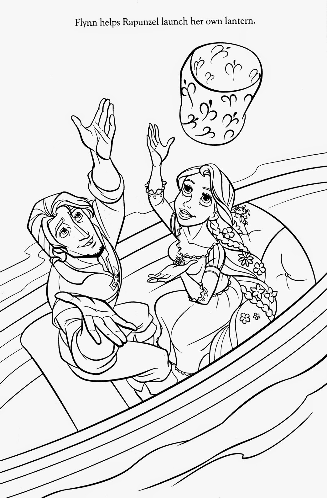"Free Coloring Pages Tangled  Coloring Pages ""Tangled"" Free Printable Coloring Pages of"