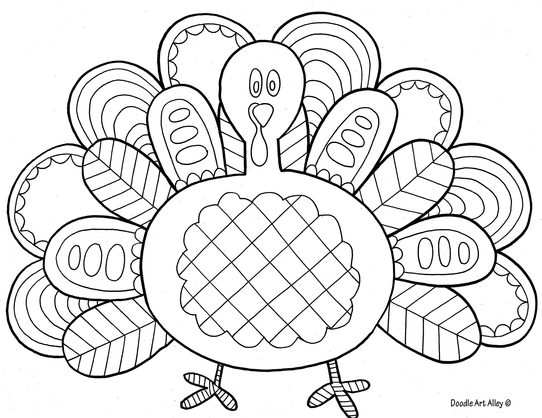 Free Coloring Pages Turkey Thanksgiving  Bird Coloring Pages