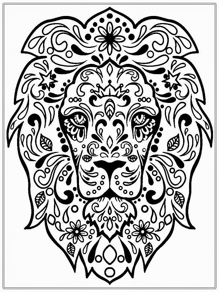 Free Coloring Sheets Adults  Adult Coloring Pages Dr Odd