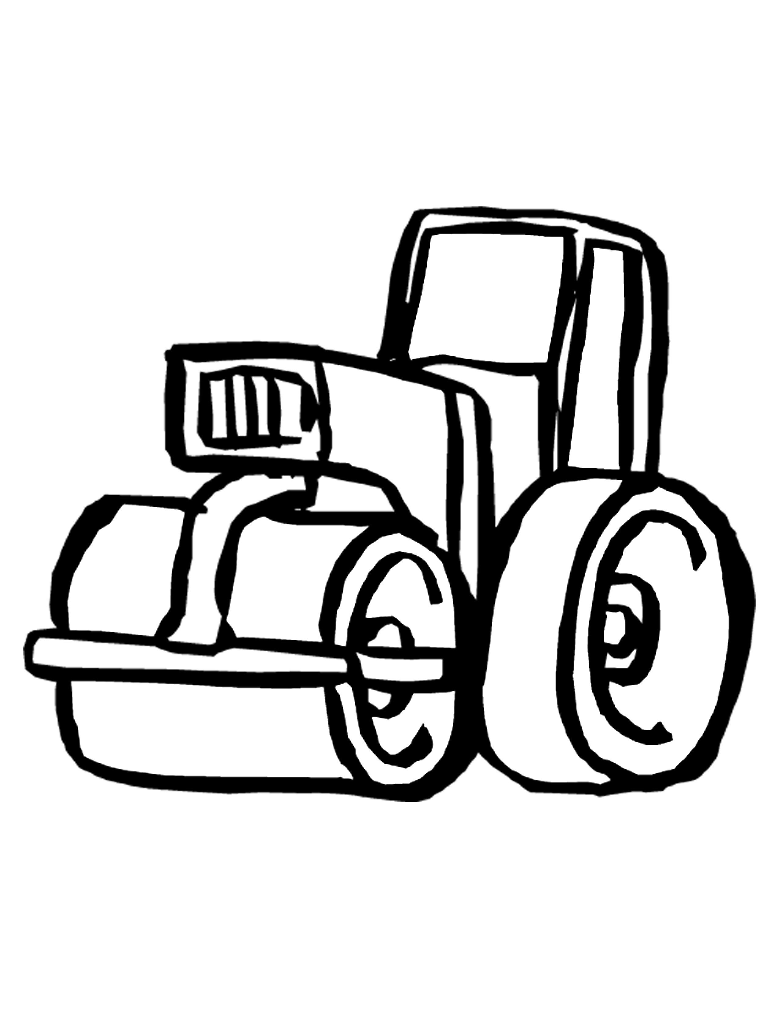 Free Coloring Sheets Construction Trucks  Construction Equipment Coloring Pages