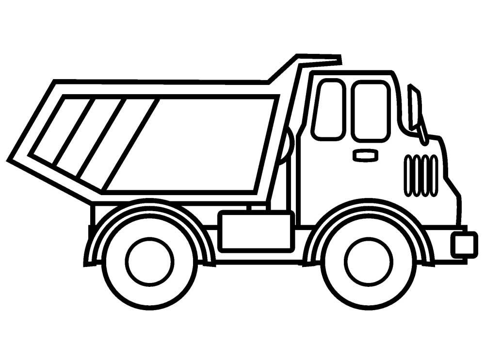 Free Coloring Sheets Construction Trucks  Pin by Shreya Thakur on Free Coloring Pages