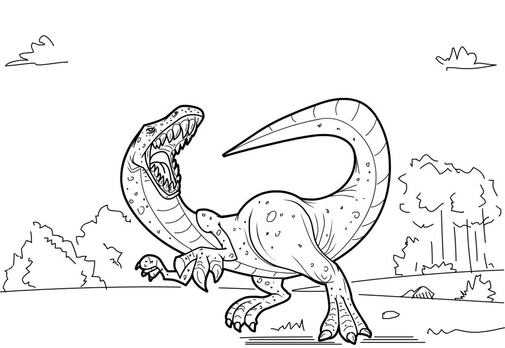 Free Coloring Sheets Dinosaurs  Free Printable Dinosaur Coloring Pages For Kids