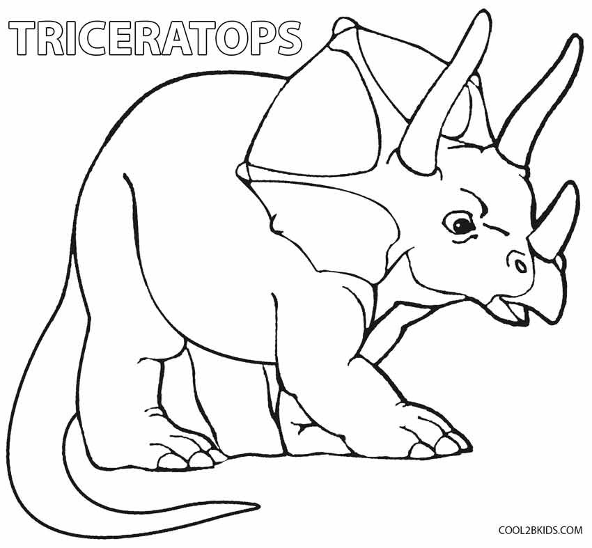Free Coloring Sheets Dinosaurs  Printable Dinosaur Coloring Pages For Kids