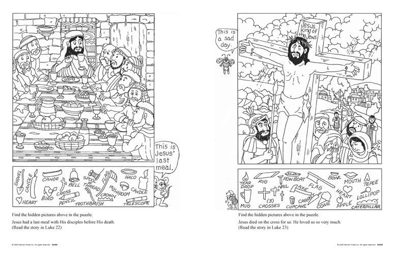 Best ideas about Free Coloring Sheets For Ages 2 To 4 Years Old For The New Testament . Save or Pin New Testament Hidden Picture Puzzles for 6 10 year olds Now.