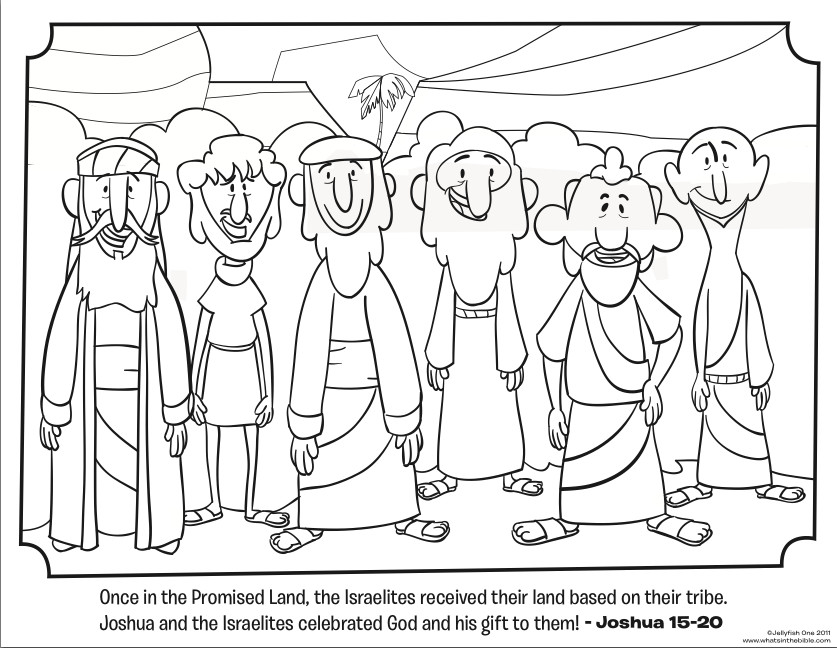 Best ideas about Free Coloring Sheets For Ages 2 To 4 Years Old For The New Testament . Save or Pin 12 Tribes Bible Coloring Pages Now.