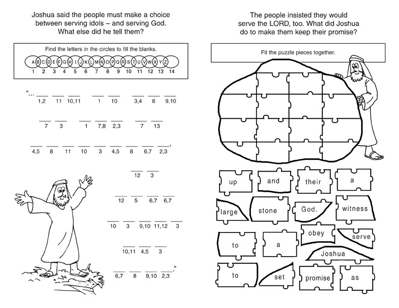 Best ideas about Free Coloring Sheets For Ages 2 To 4 Years Old For The New Testament . Save or Pin Old Testament Bible Lessons for Kids Now.