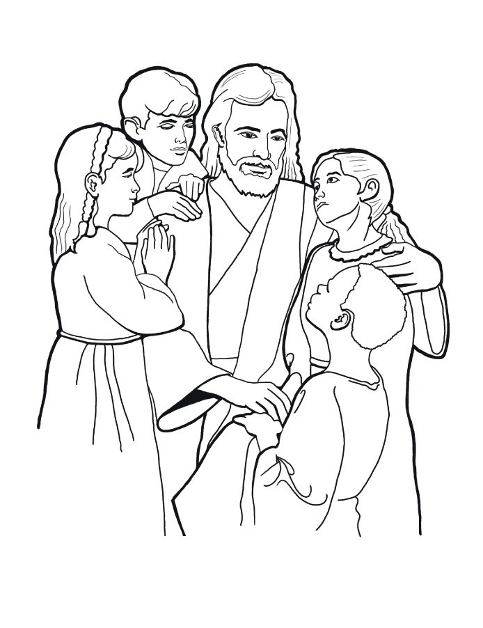 Best ideas about Free Coloring Sheets For Ages 2 To 4 Years Old For The New Testament . Save or Pin Free Printable Bible Coloring Pages For Kids Now.