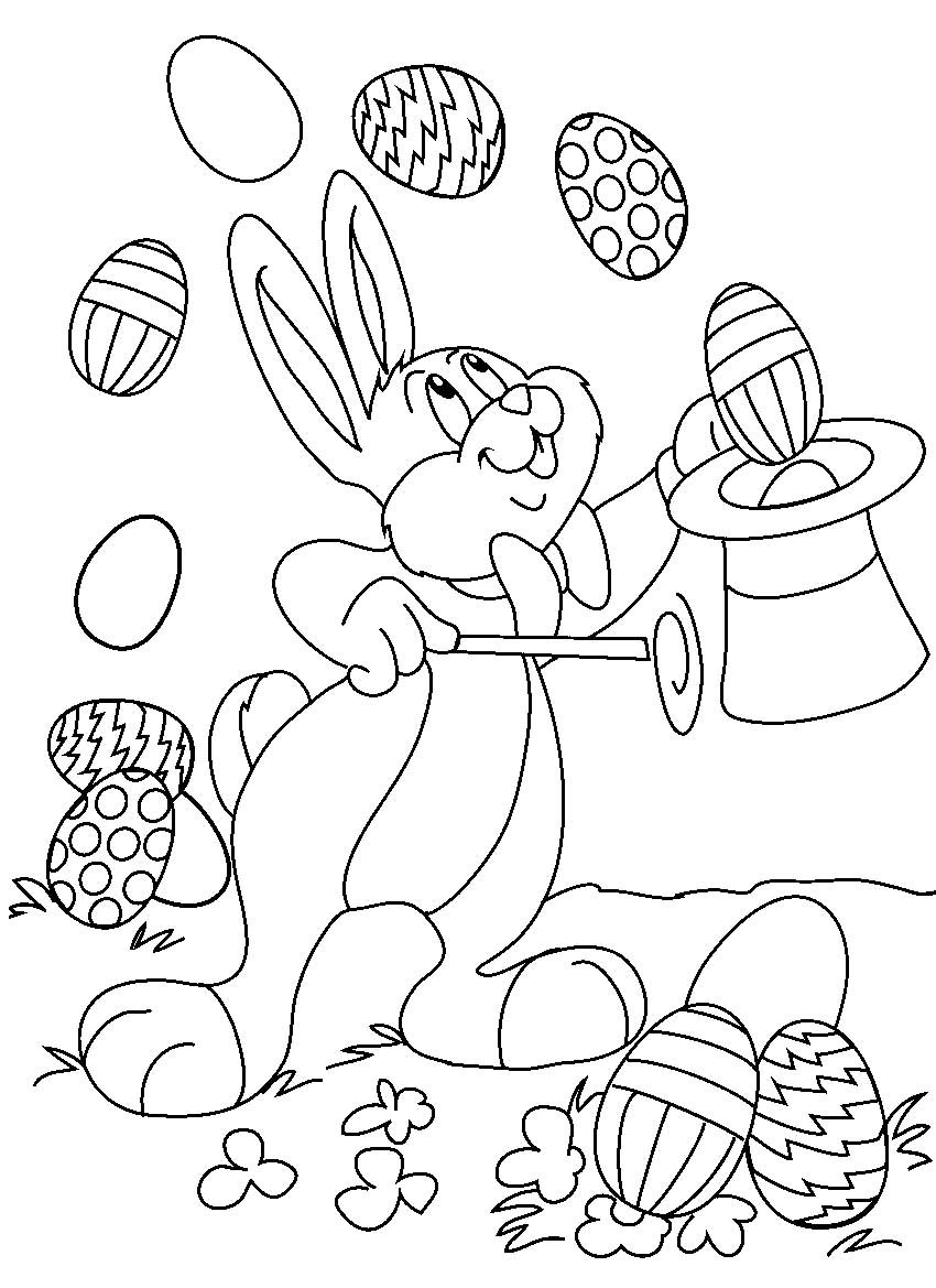 Free Coloring Sheets For Kids For Spring  Easter Coloring Pages 9