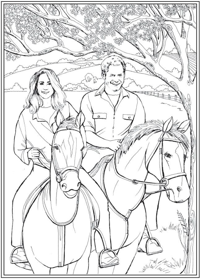 Best ideas about Free Coloring Sheets For Kids Kate Dicamillo Stories . Save or Pin Harry and Meghan A Love Story Coloring Book Now.
