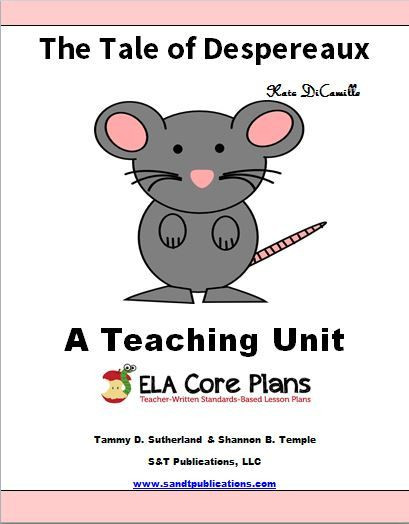 Best ideas about Free Coloring Sheets For Kids Kate Dicamillo Stories . Save or Pin The tale of despereaux Free printable and Student Now.