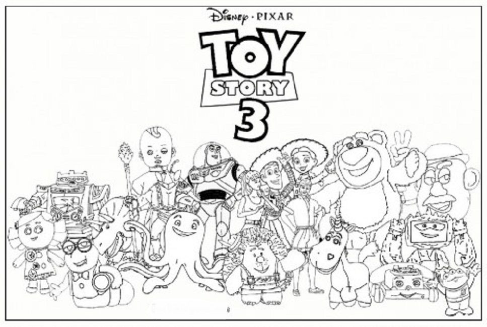 Best ideas about Free Coloring Sheets For Kids Kate Dicamillo Stories . Save or Pin toy story 3 coloring pages online Disney トイストーリー Now.
