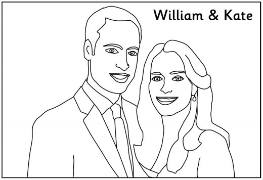 Best ideas about Free Coloring Sheets For Kids Kate Dicamillo Stories . Save or Pin Royal Wedding Coloring Pages Now.