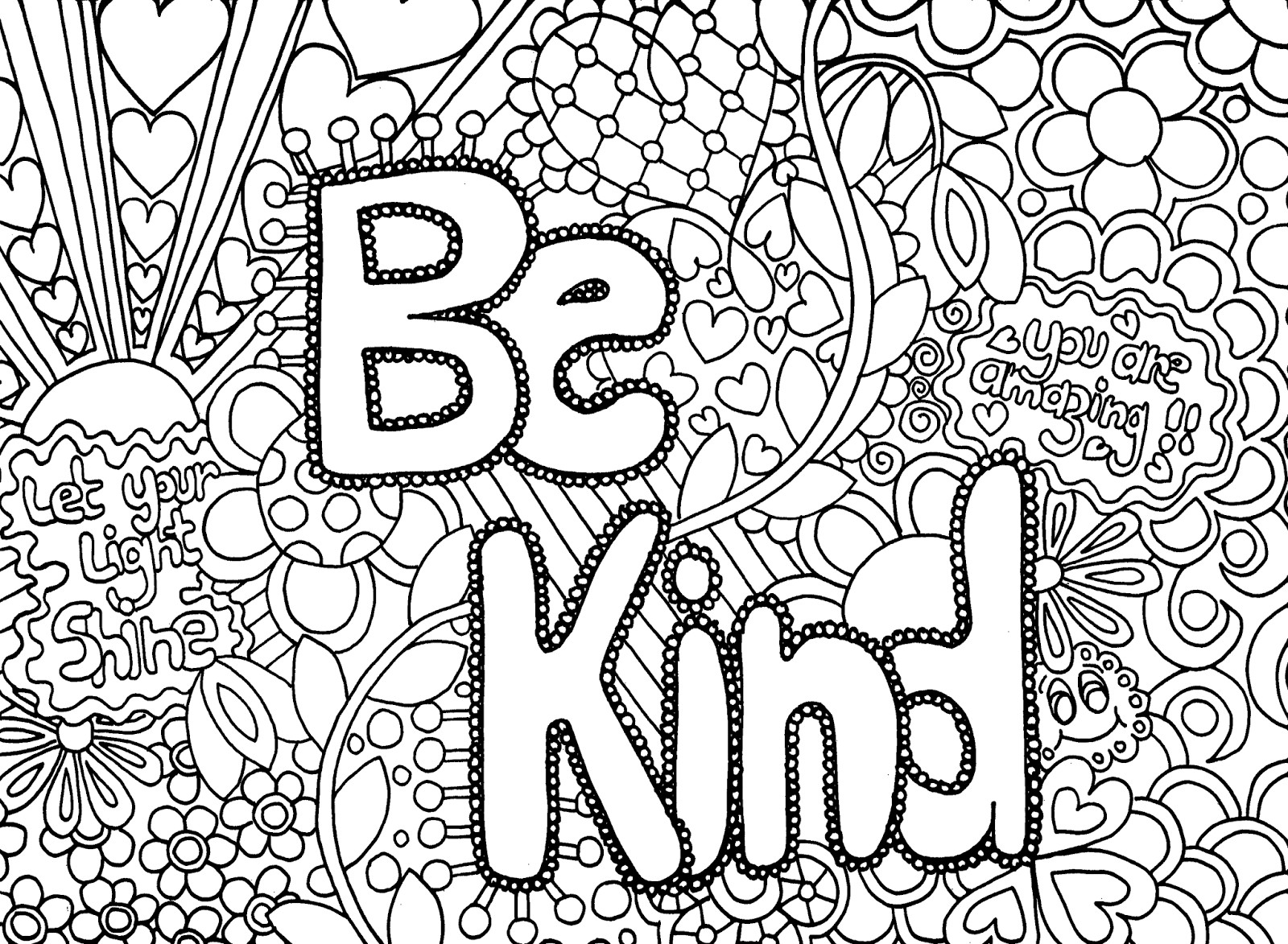 Free Coloring Sheets For Teens  just say no coloring pages